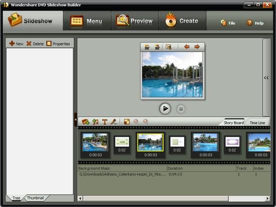 Как сделать слайд шоу из фотографий и текста
